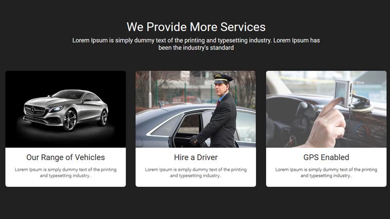 Luxury Car Rental Website Template