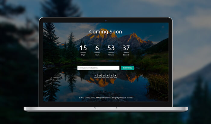 Creative Coming Soon HTML Template